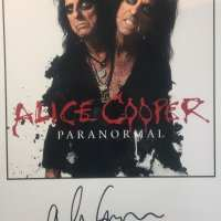 Alice Cooper - Paranormal - Signed Photograph