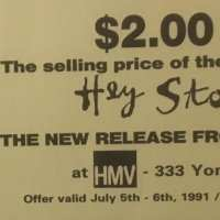 Flyer - 1991 / USA Hey Stoopid Discount
