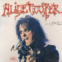 Alice Cooper - Signed Vinyl Cover