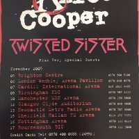 Flyer - 2005 / UK Twisted Sister Tour