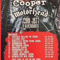 Flyer - 2007 / UK Motorhead Tour