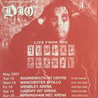 Flyer - 2001 / UK Brutal Planet Tour