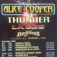 2002 - UK - Monsters of Rock Tour