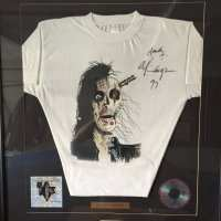 Alice Cooper - Signed T Shirt - 1997 - Australian Tour