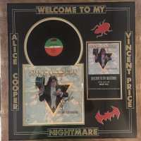 Alice Cooper - Signed Welcome To My Nightmare