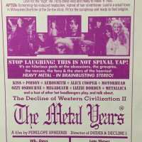 Flyer - 1988 / USA The Metal Years