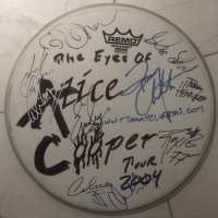 Alice Cooper Band - Signed Drumskin 2004
