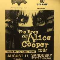 Flyer - 2004 / USA The Eyes Of Alice Cooper Tour